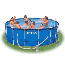 Каркасный бассейн Intex Metal Frame Pools 28218