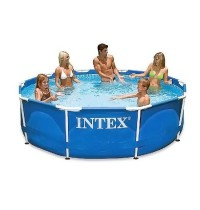 Каркасный бассейн 305x76 см Intex Metal Frame Pools 28200
