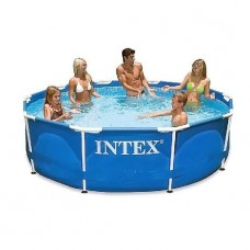 Каркасный бассейн 305x76 см Intex Metal Frame Pools 28200