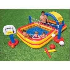 Надувной игровой центр Intex Sports Play Center 56466