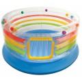 Надувной игровой центр-батут Intex Jump-O-Lene Transparent Ring Bounce 48264