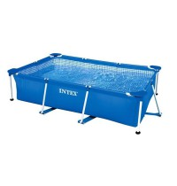 Бассейн на опорах 450х220х85 см Intex Rectangular Frame Pool 28273