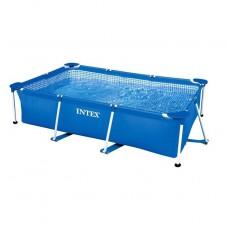 Бассейн на опорах 450х220х85 см Intex Rectangular Frame Pool 28273