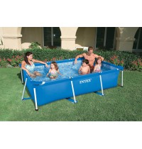 Бассейн на опорах 260x160x65 см Intex Rectangular Frame Pool 28271