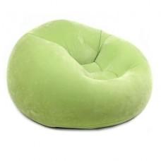 Надувное кресло Intex Beanless Bag Chair 68569 Green