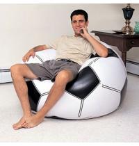 Надувное кресло (футбольный мяч) Intex 68557