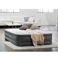 Двуспальная надувная кровать Intex Premaire Elevated 64474 с встроенным насосом