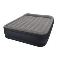 Двуспальная надувная кровать Intex Deluxe Pillow Rest Raised Bes 64136 с встроенным насосом