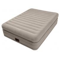 Надувная двуспальная кровать Intex Prime Сomfort Elevated Airbed (со встроенным насосом) 64446