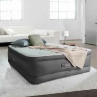 Двуспальная надувная кровать Intex PremAire Elevated Airbed 64484 с встроенным насосом