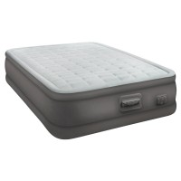 Двуспальная надувная кровать Intex PremAire Elevated Airbed 64486 с встроенным насосом