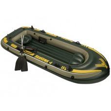 Надувная лодка Intex Seahawk 400 68351